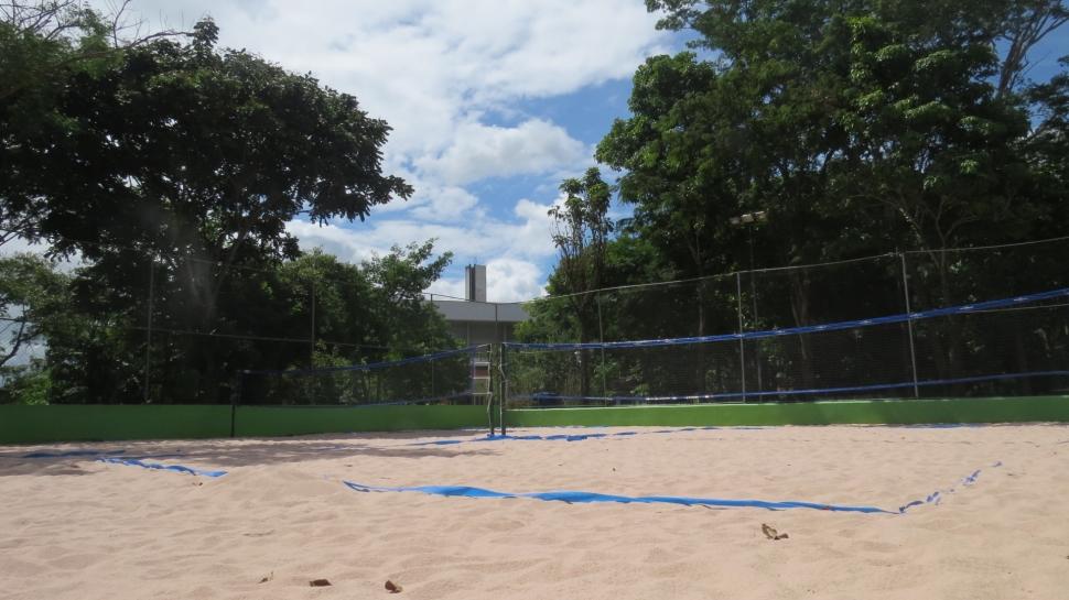 Venha curtir as novas quadras de Beach Tennis do SESI Mogi das Cruzes!