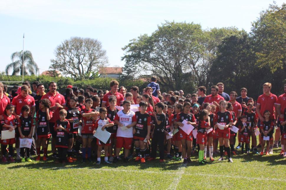 SESI Jacareí Rugby recebe seleções do World Rugby U20 Trophy no Campo do Balneário