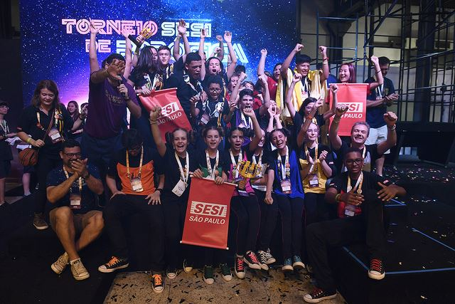Torneio SESI de Robótica 2019