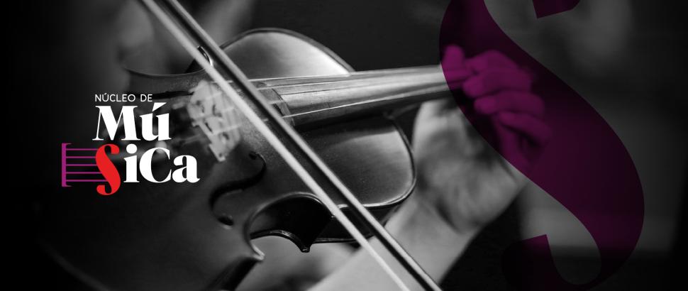 Cursos gratuitos de iniciação musical e aprimoramento de instrumentos de cordas. Inscreva-se!