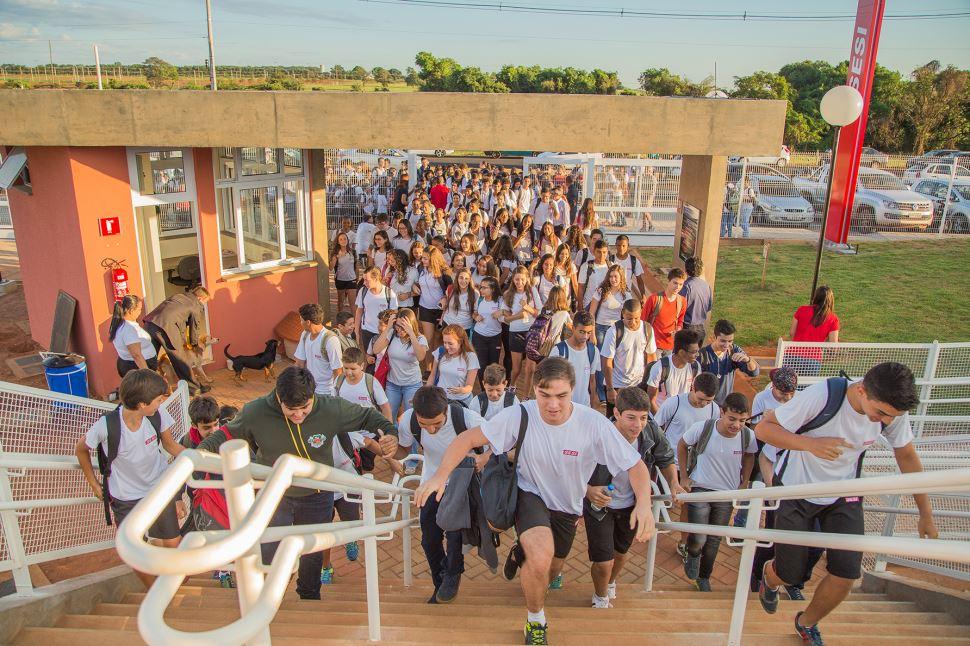 Rede escolar do SESI-SP volta às aulas na próxima segunda, 27 de janeiro