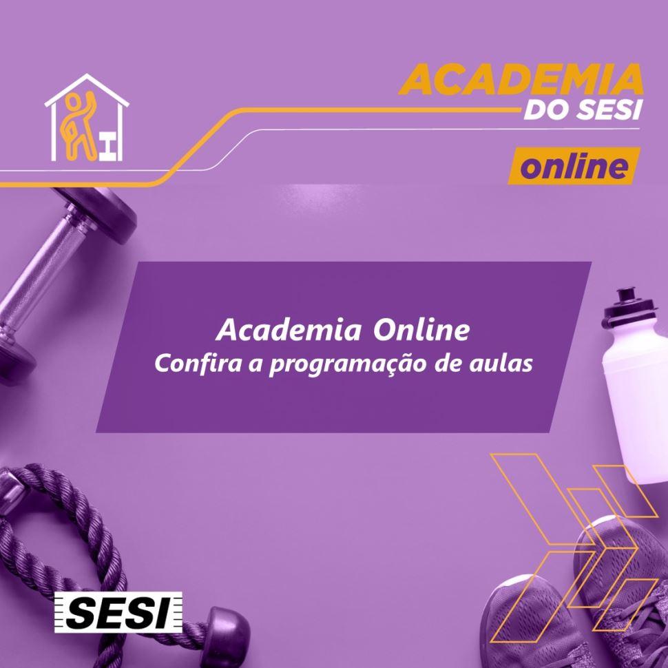 Confira a programação da Academia Online durante a fase vermelha