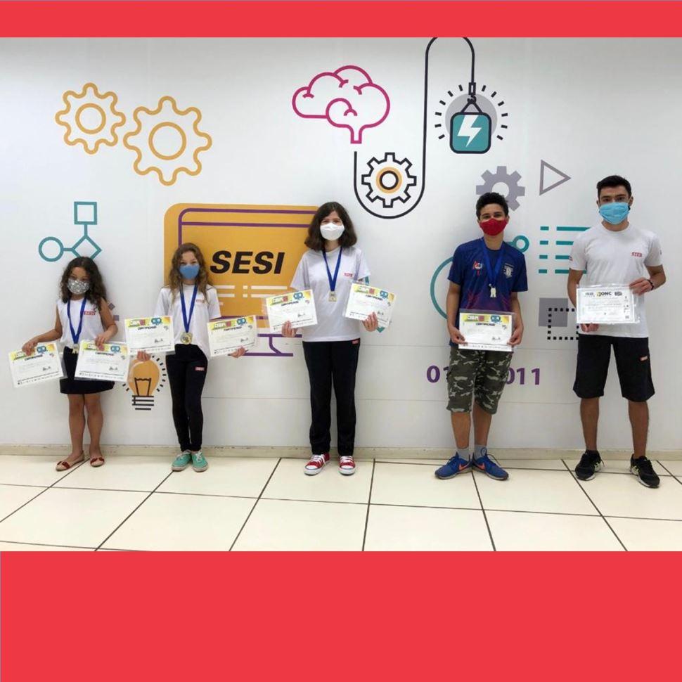 Estudantes de Hortolândia são destaque em Olimpíada de Robótica