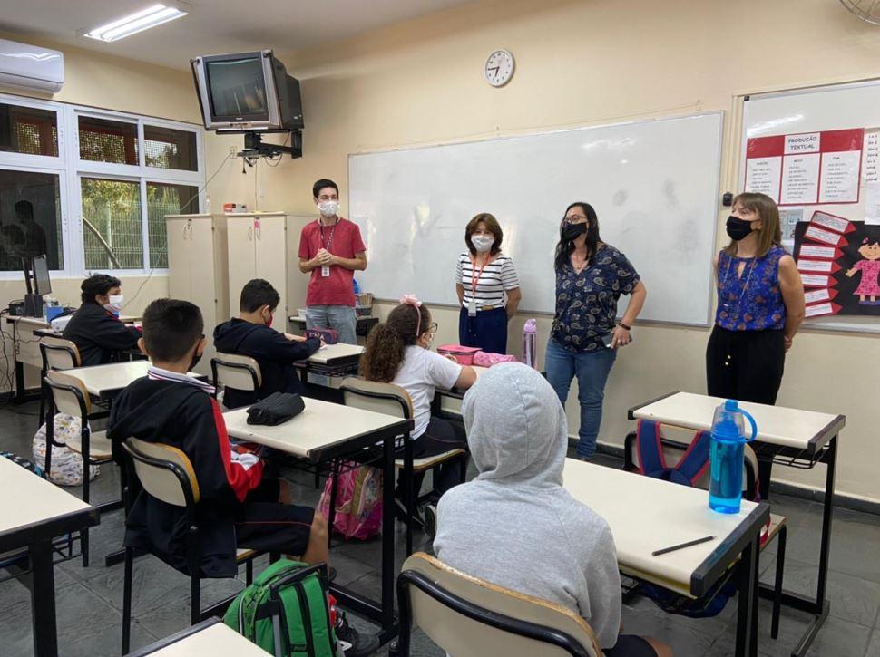 Alunos do Sesi Nova Odessa participam de palestra sobre Meio Ambiente