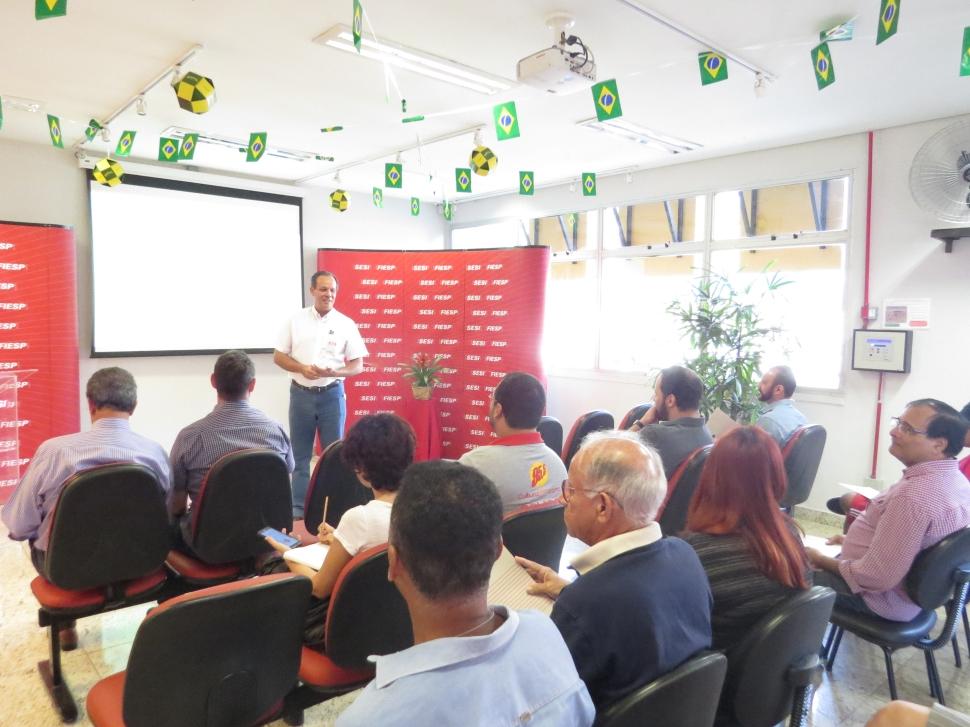 SESI Araçatuba recebe imprensa e convidados para o lançamento do projeto arquitetônico de complexo esportivo