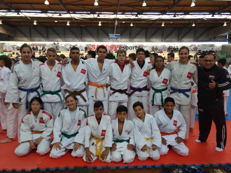 SESI Araçatuba conquista 10 medalhas na 2° Etapa Estadual da Liga SESI-SP Treinamento Esportivo, modalidade Judô