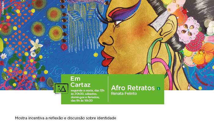 SESI ARAÇATUBA RECEBE EXPOSIÇÃO AFRO RETRATOS