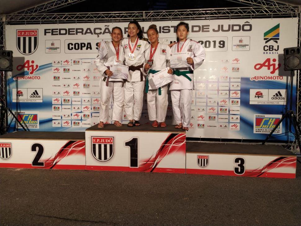 Aluna do Treinamento Esportivo do SESI Araçatuba conquista medalha de bronze na Copa São Paulo de Judô 2019