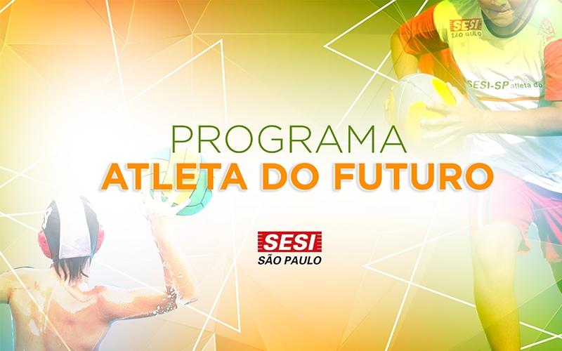 Matrículas abertas para vagas remanescentes do Programa Atleta do Futuro