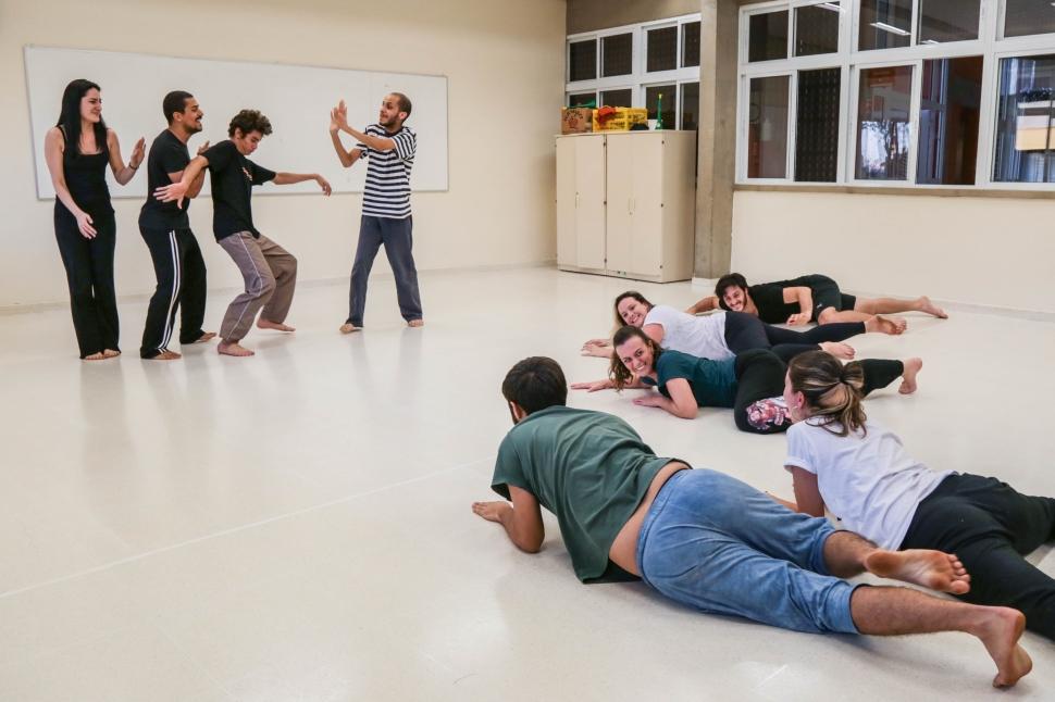 Veja como foi a oficina com o ator Arman Saribekyan, do Théâtre du Soleil (França)