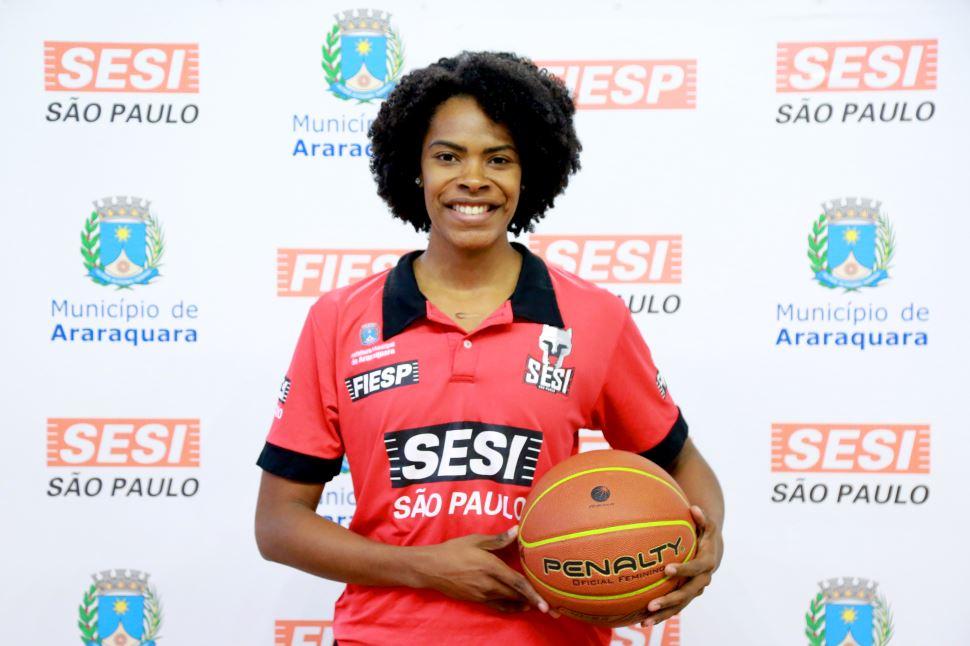 SESI Araraquara Basquete anuncia a contratação do primeiro reforço para o Campeonato Paulista