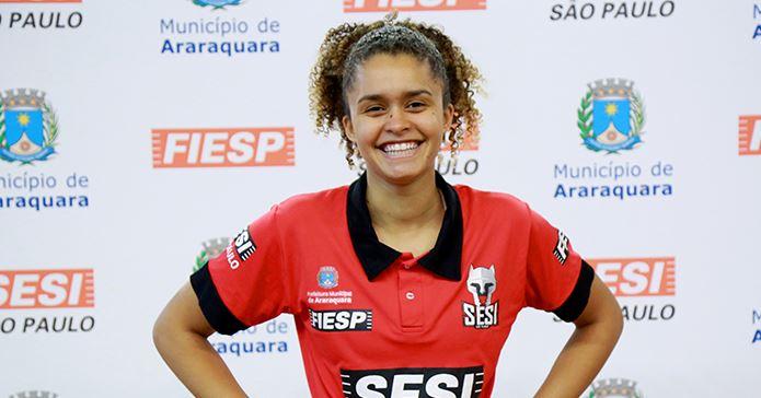 Gabriela Soso é a nova ala do SESI Araraquara Basquete para o Paulista