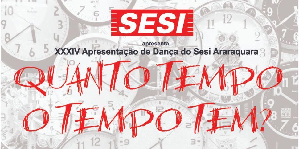 XXXIV Apresentação de Dança do Sesi Araraquara acontece em novembro no CEAR