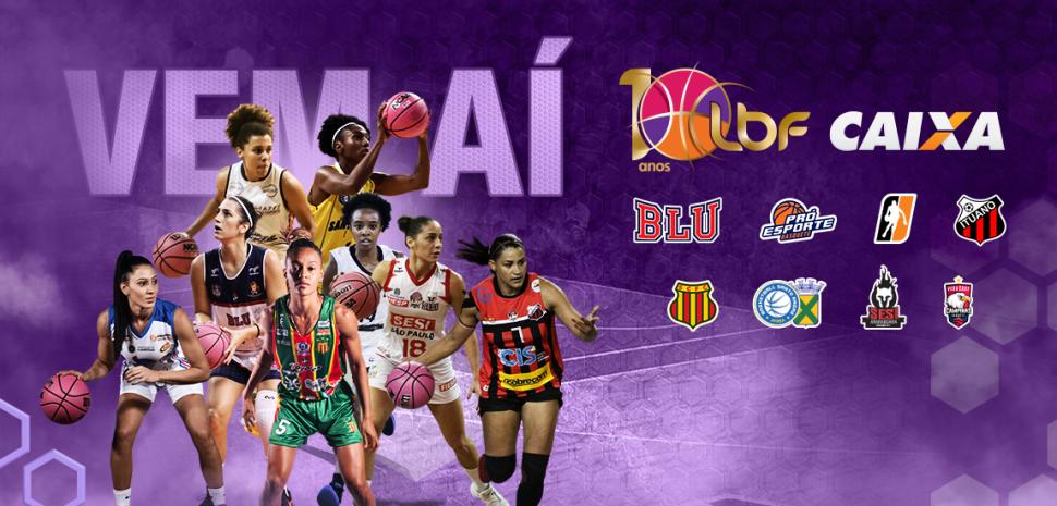 Liga de Basquete Feminino terá início em março e primeiro turno conta com quatro jogos seguidos no Gigantão