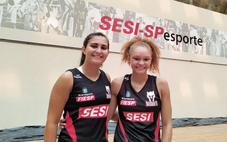 Jogadoras do Sesi Araraquara Basquete são convocadas para Seleção Brasileira Sub-18