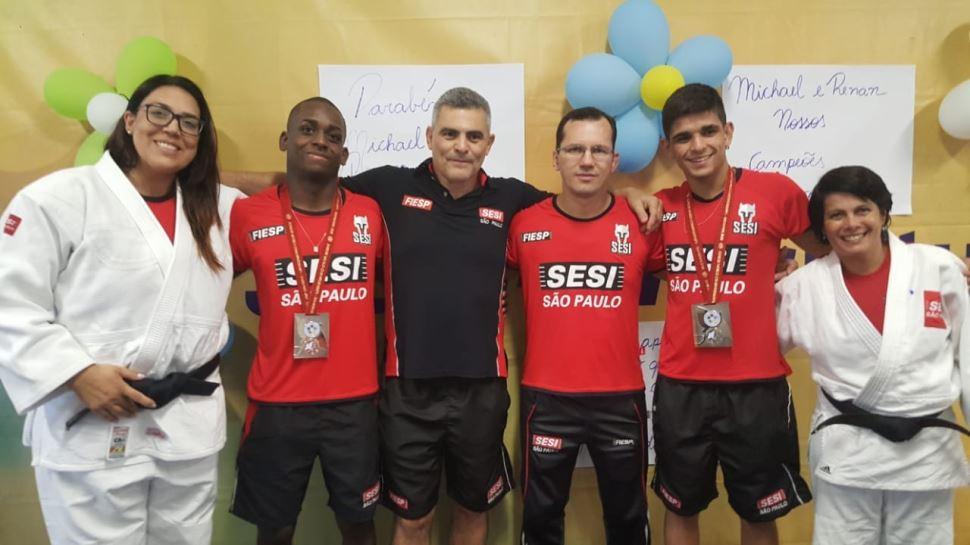 Judocas do SESI conquistam medalhas em Mundial Junior