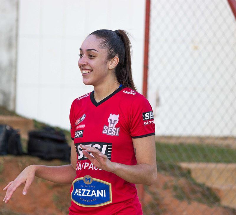 Gabi Candido é convocada para seleção brasileira