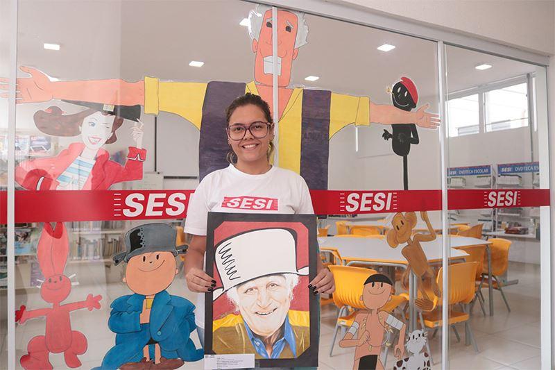 Aluna do SESI Bauru é campeã estadual de Ilustração