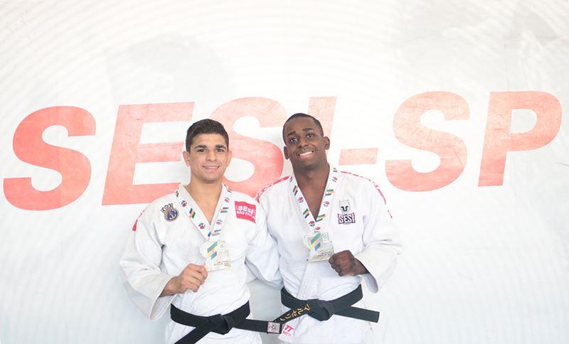 Judô do SESI Bauru ganha duas pratas no Troféu Brasil