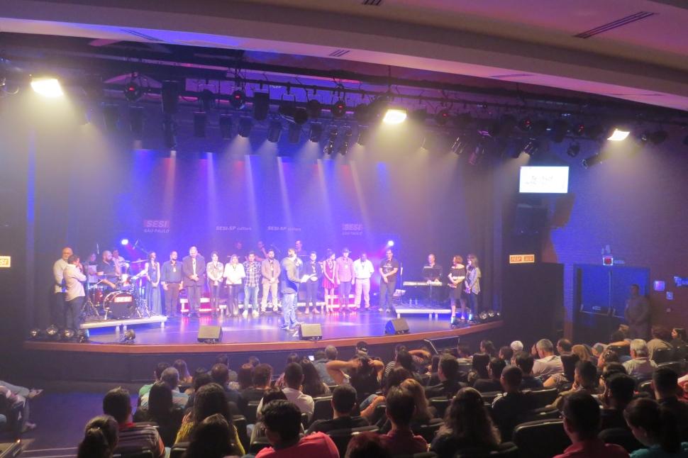 Talento, emoção e diversão marcaram o 7º Festival de Música do Trabalhador