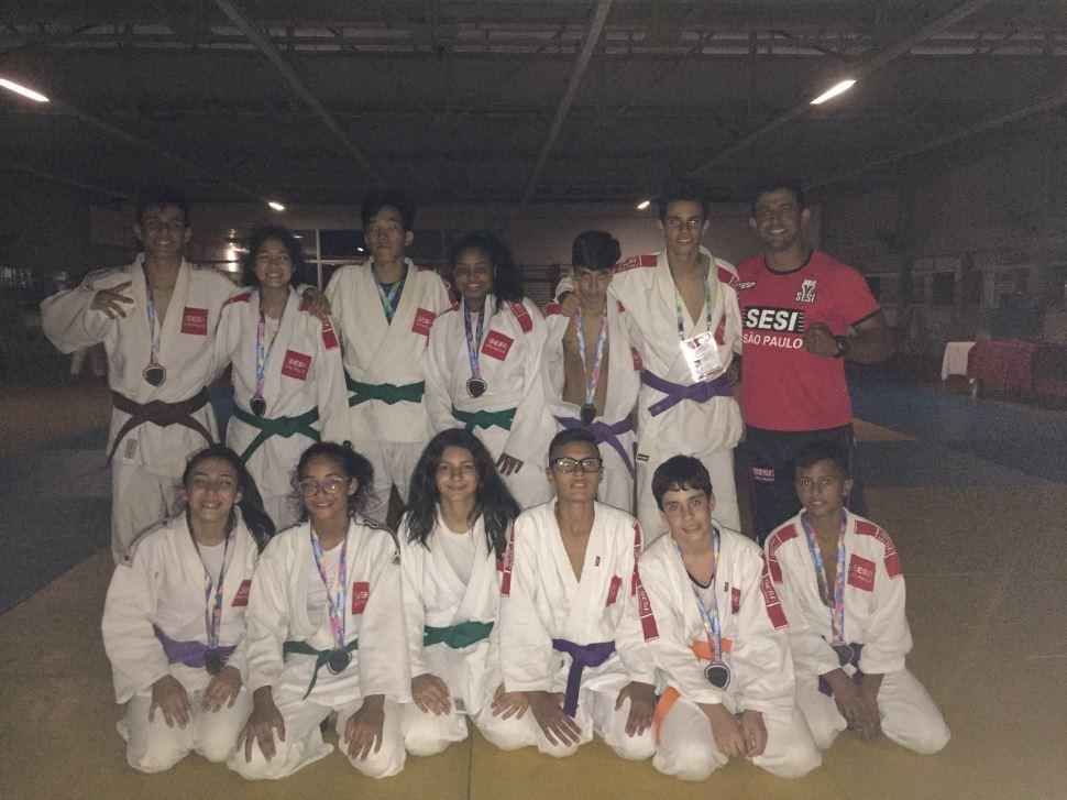 SESI Birigui conquista oito medalhas na final da Liga SESI-SP de Treinamento Esportivo
