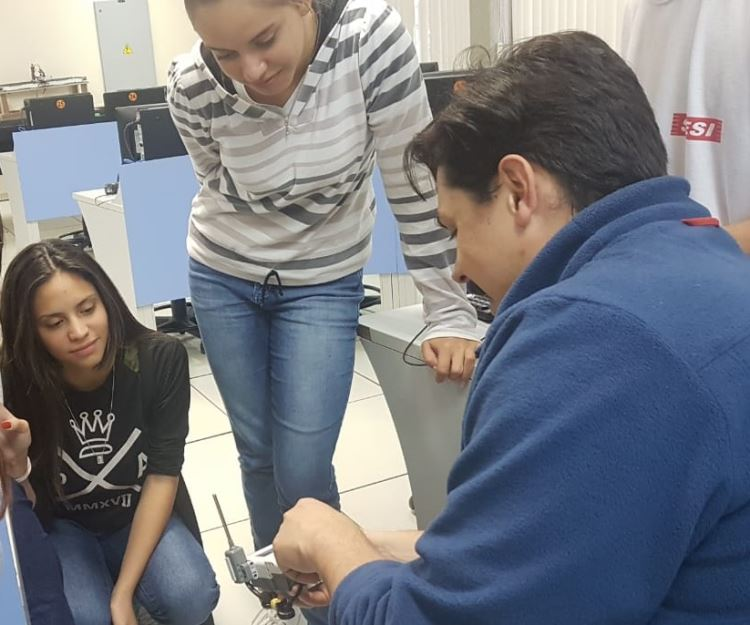 Projeto interdisciplinar de medidores de temperatura