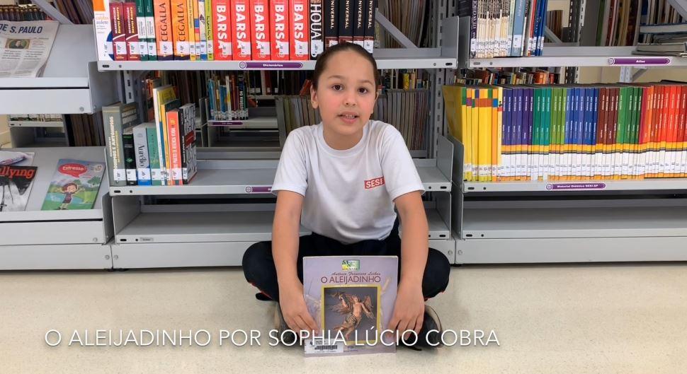 Alunos do do SESI Botucatu fazem indicações literárias por meio de vídeos e textos