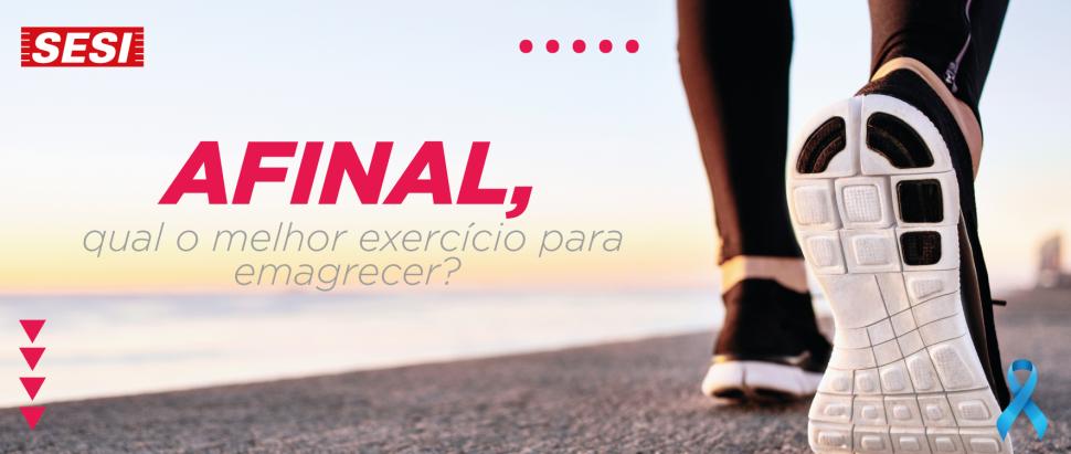 Afinal, qual o melhor exercício para emagrecer?