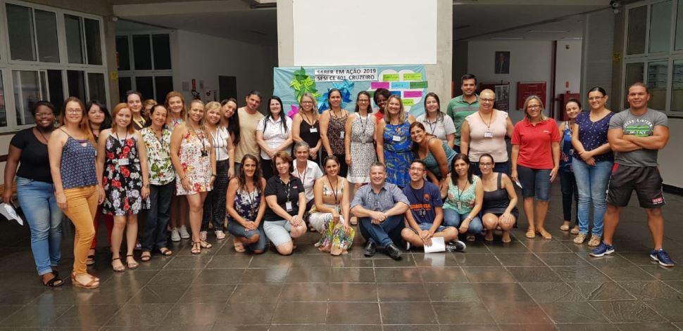 Docentes das escolas Cruzeiro e Lorena participam da semana de formação do SESI SP