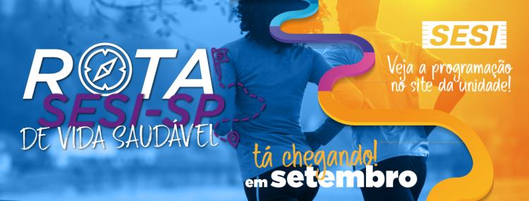 Rota SESI-SP de Vida Saudável em Cruzeiro