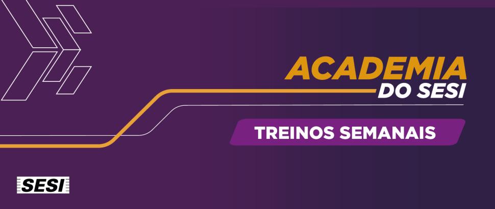 Treinos Semanais - Alunos da Academia