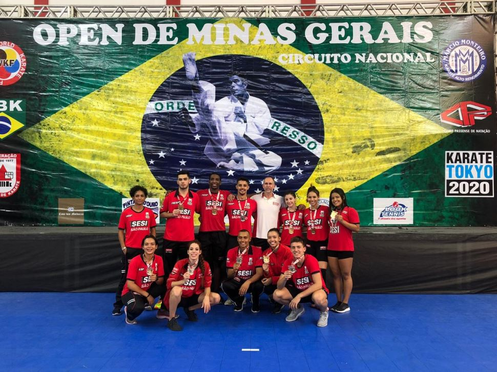 Deu SESI SP no II Open CPN 2019 de Karate