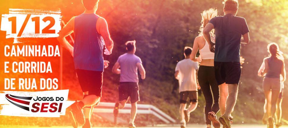 SESI Cubatão promove caminhada e corrida de rua. Inscreva-se!
