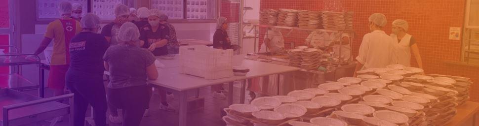 Saiba quais são as Instituições que estão fazendo as entregas das refeições doadas pelo SESI-SP na região da Baixada Santista