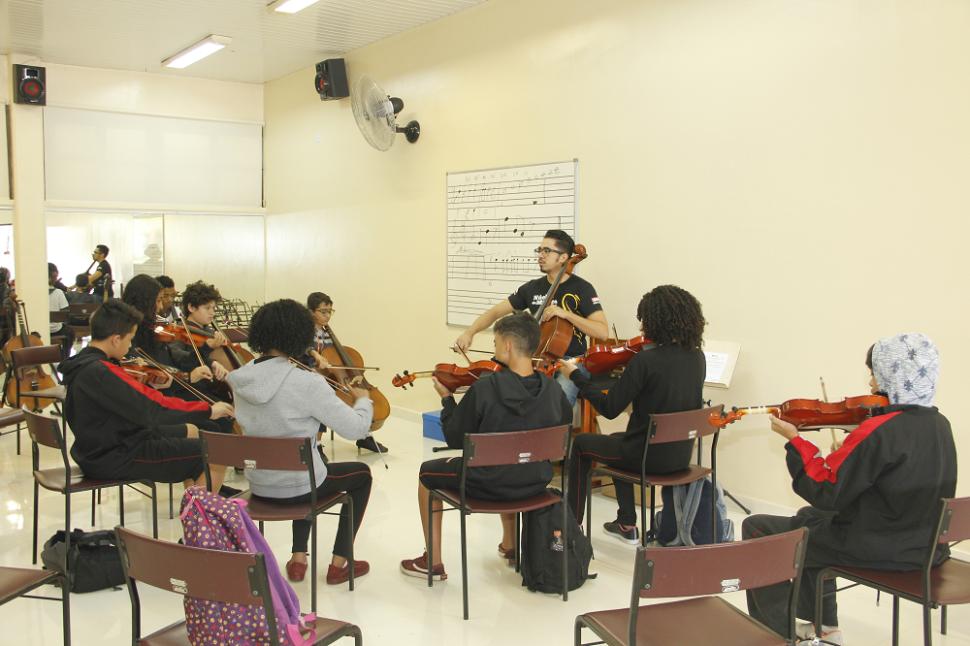 Núcleo de Música do SESI Diadema ganha novo espaço