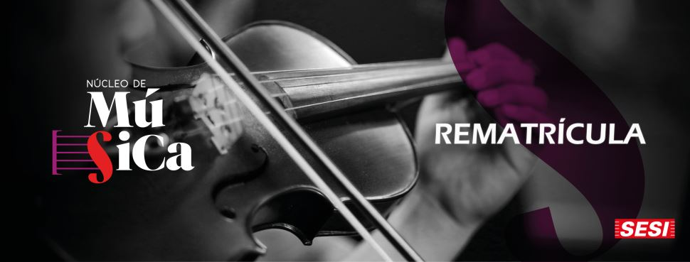 Núcleo de Música realiza rematrícula no formato online a partir de 18/01