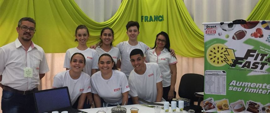 Alunos do SESI-SP de Franca garantem título do Jovens em Inovação