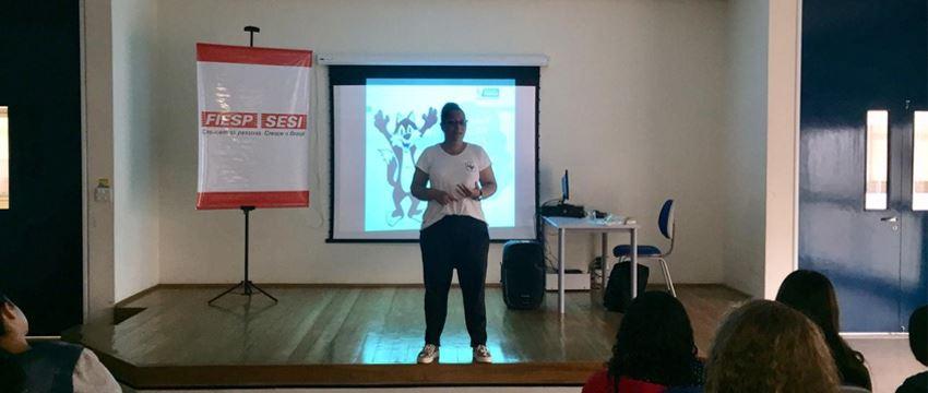 Sesi Franca realiza ação para o combate da dengue em parceria com a Secretaria de Saúde