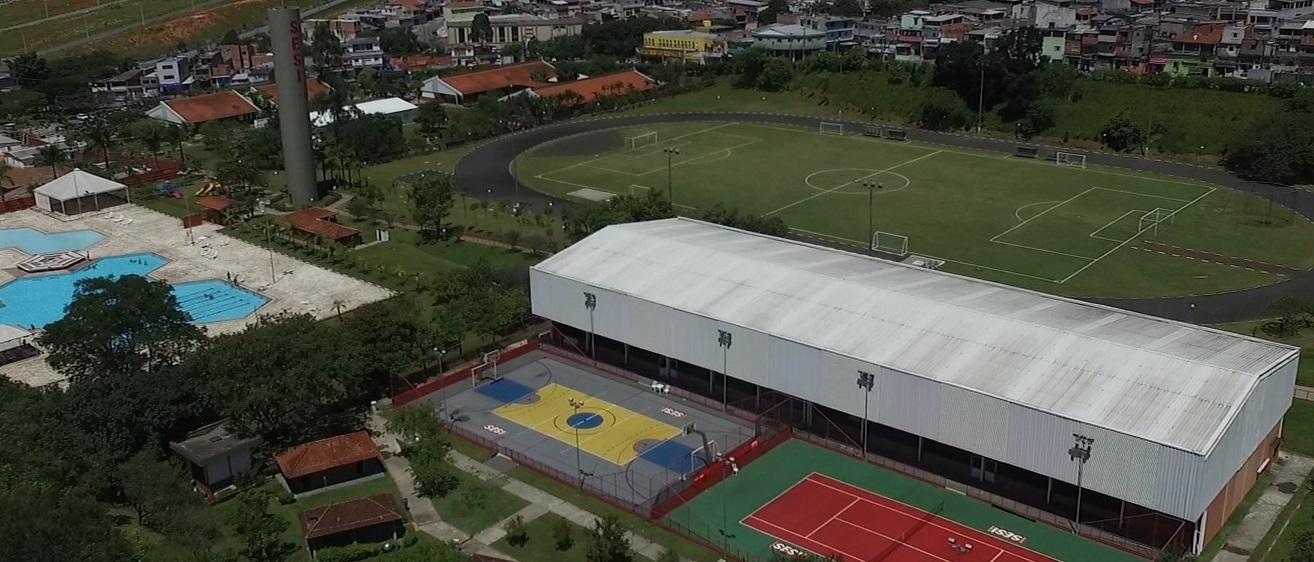Vista aérea SESI Guarulhos