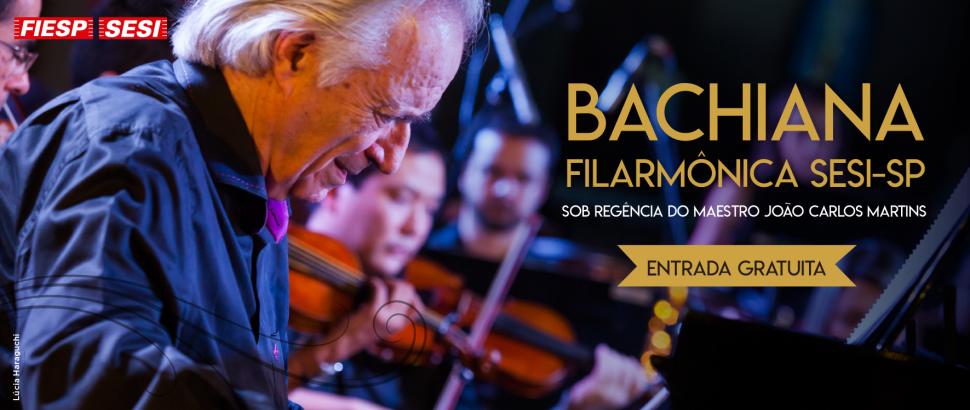 Bachiana Filarmônica do SESI-SP se apresenta em Mairiporã