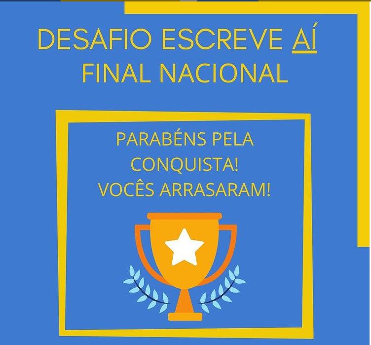 ALUNAS DO SESI INDAIATUBA VENCEM CONCURSO NACIONAL DE REDAÇÃO