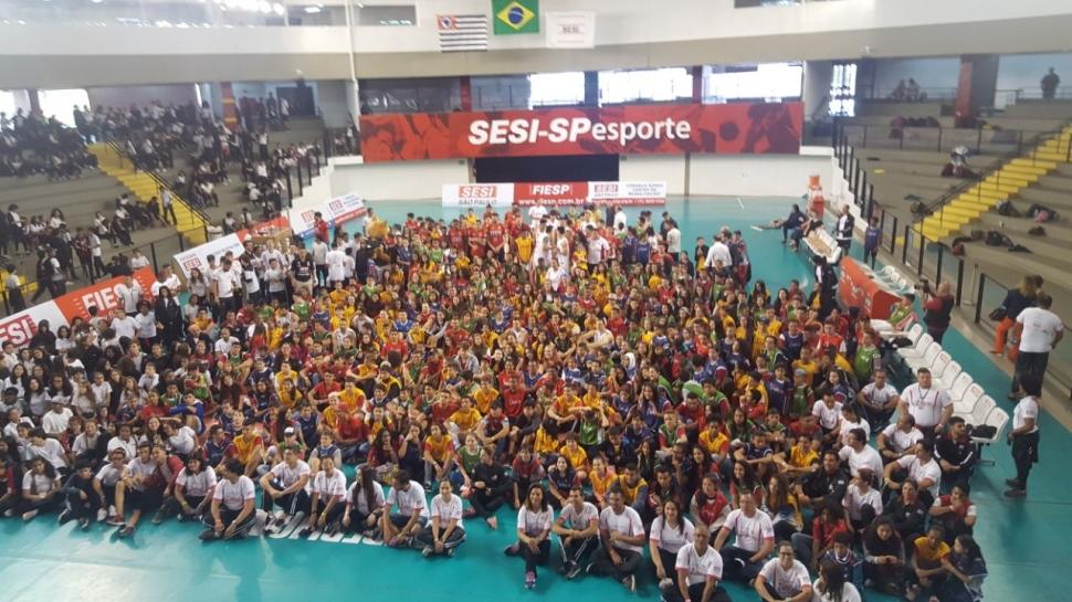 SESI Vila Leopoldina foi palco da posse dos Embaixadores do Esporte