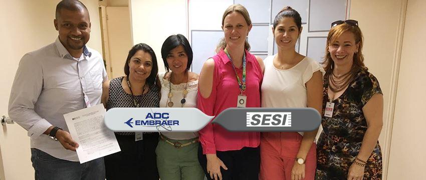 SESI e ADC Embraer firmam uma grande parceria