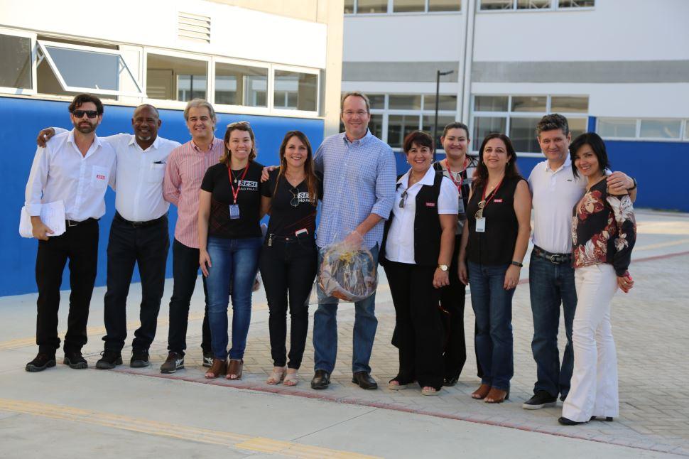 Superintendente do SESI SP visita a nova escola SESI Caçapava e demais unidades da Região!