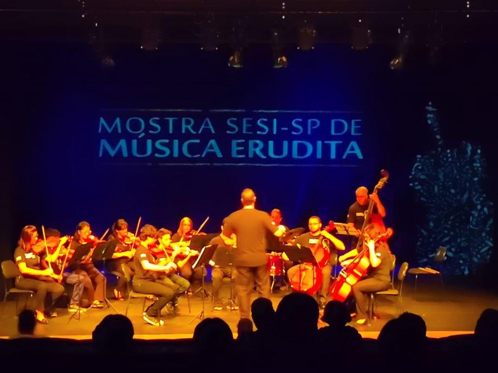 Alunos do Núcleo de Música do SESI Limeira participam da Mostra de Música Erudita em Piracicaba