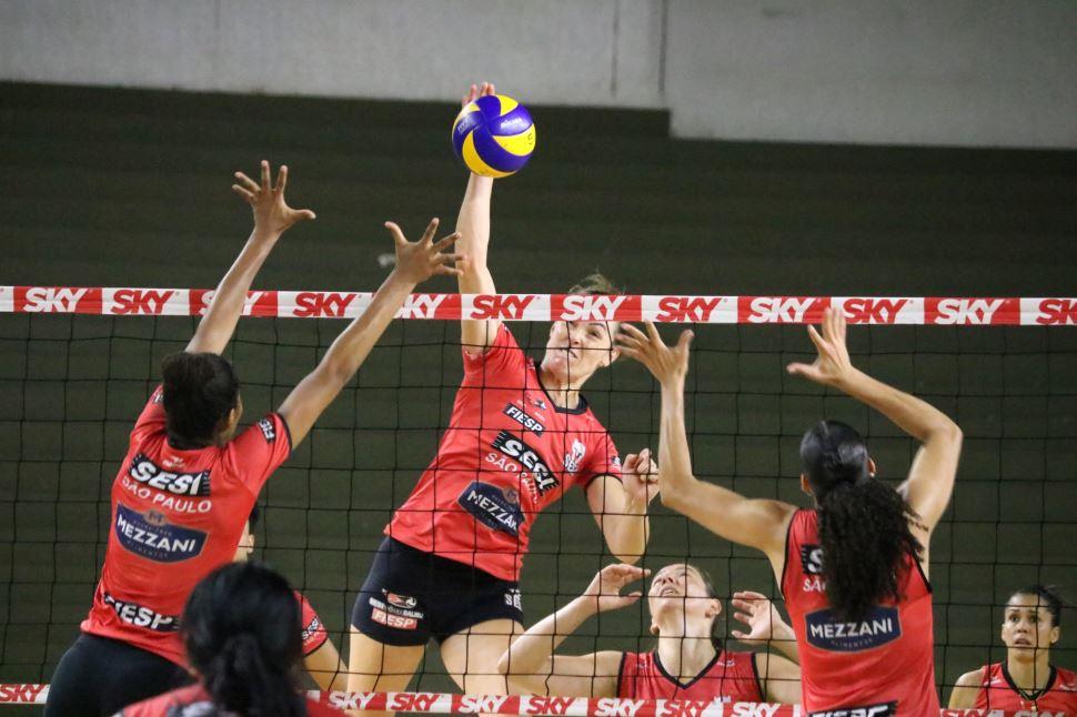 Marília receberá SESI Vôlei Bauru no jogo pela Copa Brasil