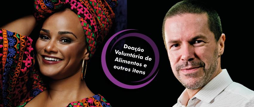 Vem ao show de Luciana Mello e Pedro Mariano? Participe do Mutirão de Natal!