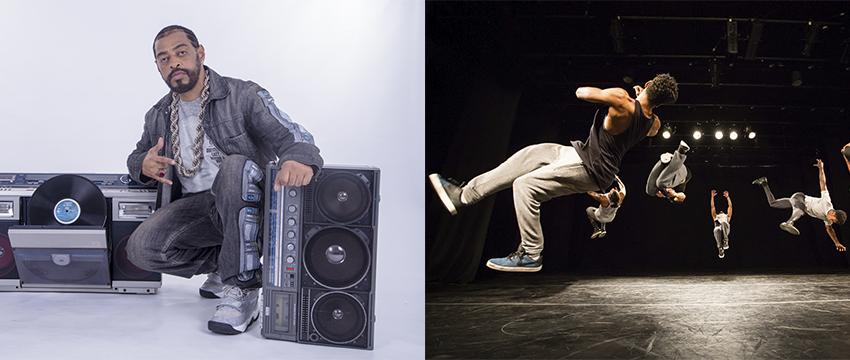 SESI Mauá enaltece a cultura Hip Hop com Thaíde, ícone do rap nacional e Cia. Híbrida de dança