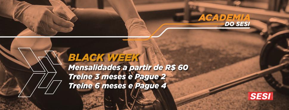 Black Week com Super Promoção: quer ganhar 1 ou 2 meses de academia grátis?