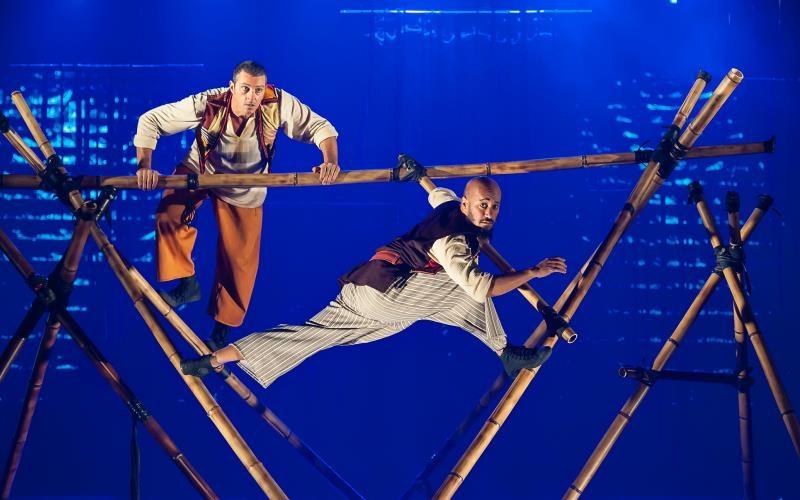 Premiada adaptação teatral para Simbad, do clássico mil e uma noites, chega ao Sesi Osasco!